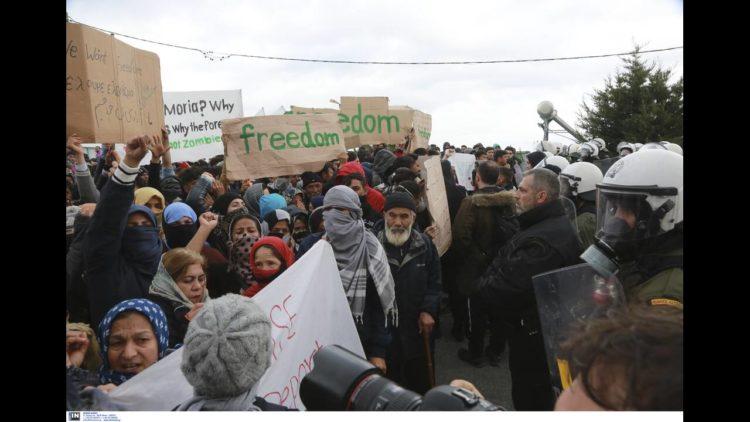 κινητοποίηση μεταναστών